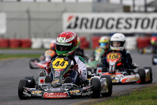 Leonardo Marseglia conquista a Lonato (BS) la vittoria nella Bridgestone Supercup classe Mini ROK