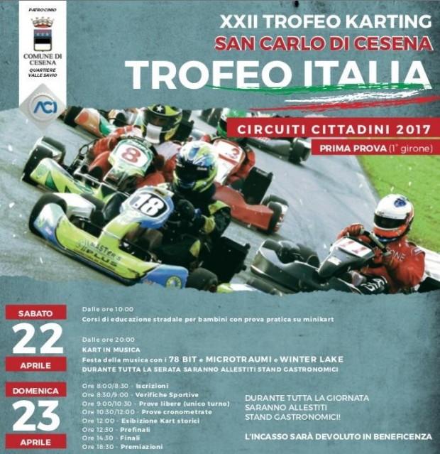 XXII Trofeo Karting San Carlo di Cesena, una festa del motorsport