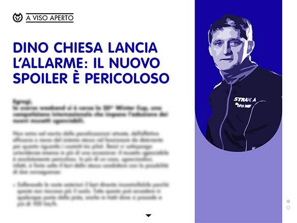 DINO CHIESA LANCIA L'ALLARME: IL NUOVO SPOILER E' PERICOLOSO