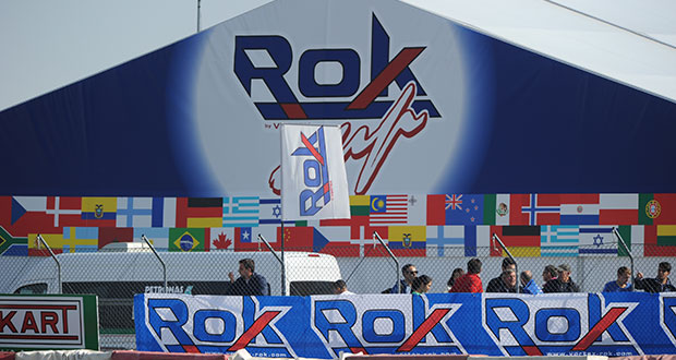 422 Rokkers at the starting grid for the 14th ROK Cup International Final's edition