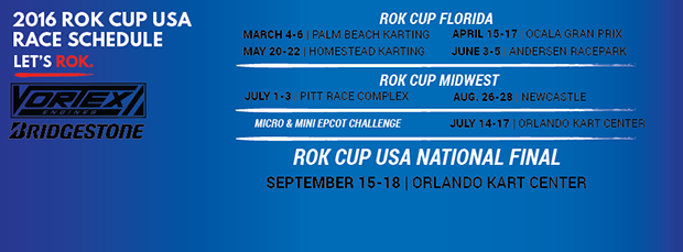ROK Cup USA – Midwest Championship – Round 1 Pittsburgh – Track Update