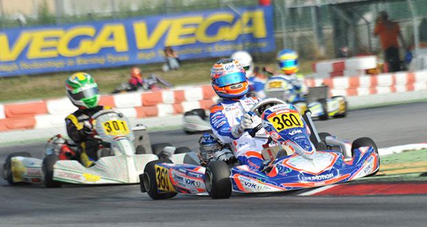 Manche di qualifica concluse alla WSK Final Cup all'Adria Karting Raceway