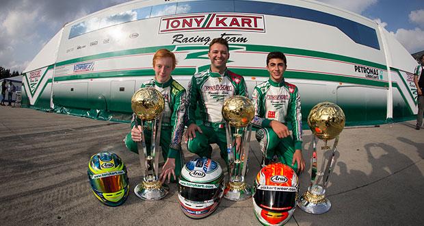Tony Kart – Ardigo' champion of the WSK Final Cup
