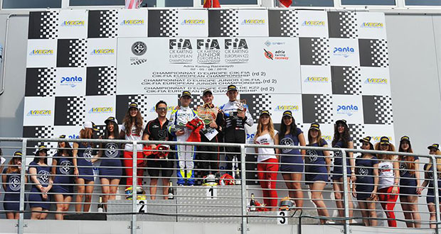 CIK-FIA European Championship OK – OKJ – KZ2 a Adria (RO) – Final races