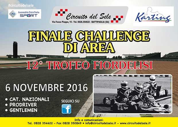 Il 6 novembre al Circuito del Sele di Battipaglia la Finale del Challenge Italia ACI Karting Area Sud