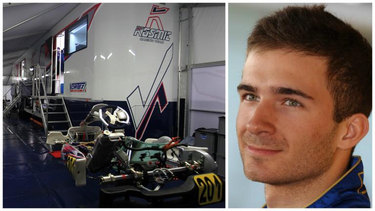 Kosmic Kart Racing: Hajek KZ driver in 2016