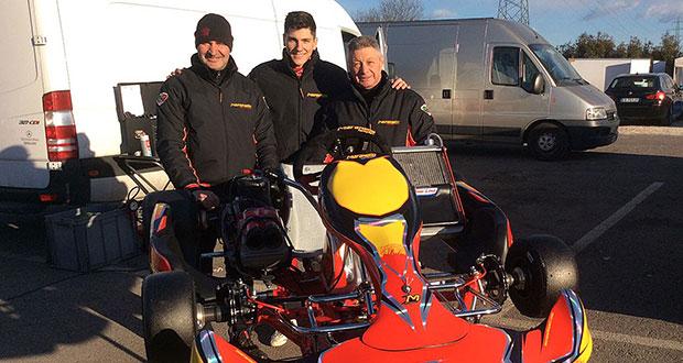 Maranello Kart pronta a scendere in pista con una squadra corse d'attacco