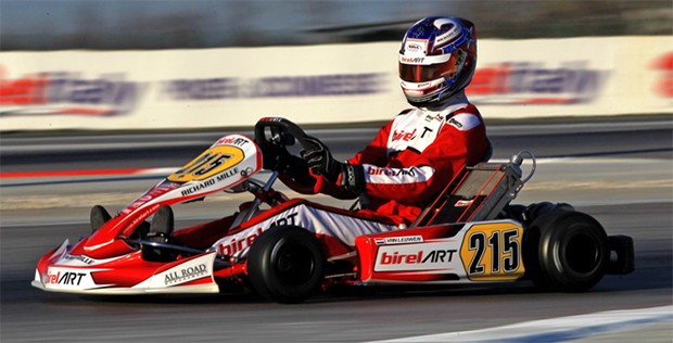 Birel ART line-up for the Winter Cup