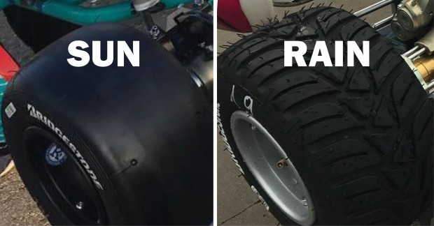 From sun to rain, how to adjust your kart's set-up