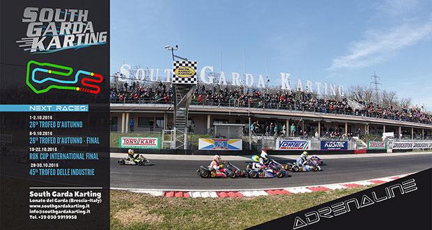 Dal 14 settembre iscrizioni aperte per il 26° Trofeo d'Autunno al South Garda Karting di Lonato