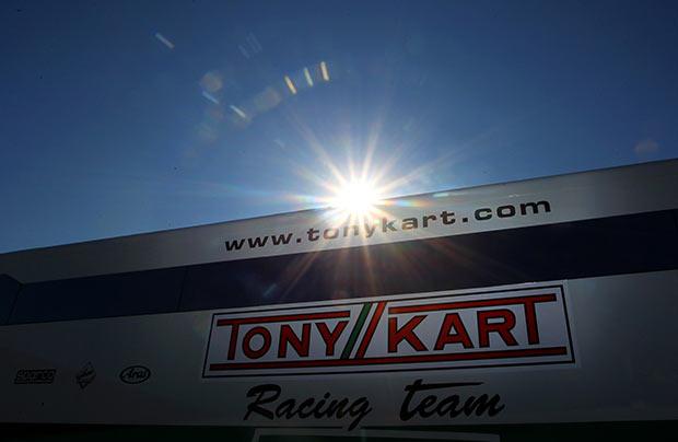 La formazione del Tony Kart Racing Team 2016