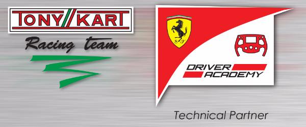 Tony Kart Racing Team And Ferrari Driver Academy Present Their Technical Partenership