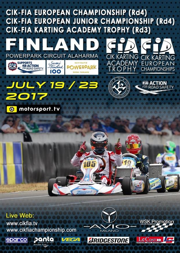 CIK-FIA European Championships OK – OK Junior + Academy Trophy a Alaharma (FIN)
