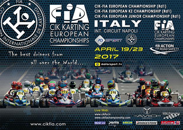 CIK-FIA European Championship KZ-OK-OKJ a Sarno (I)
