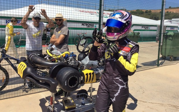 CIK-FIA European Champs: Garcia Lopez (OK), Kenneally  (OKJ) e Handsaeme (Academy) sono in pole