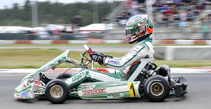 CIK-FIA EUROPEAN KZ-KZ2-KF – CHAMPIONSHIP STANDINGS