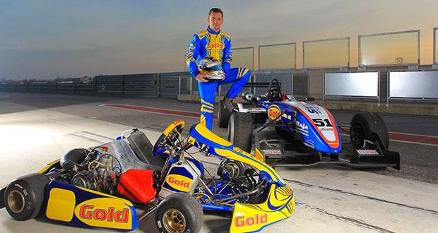 Sfidare in kart una Formula 3