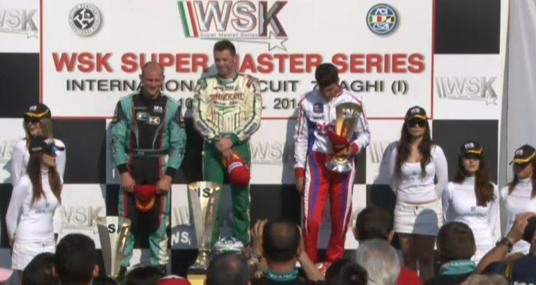WSK SUPER MASTER SERIES: 2nd ROUND FINALE DELLA KZ2, VINCE ARDIGO'