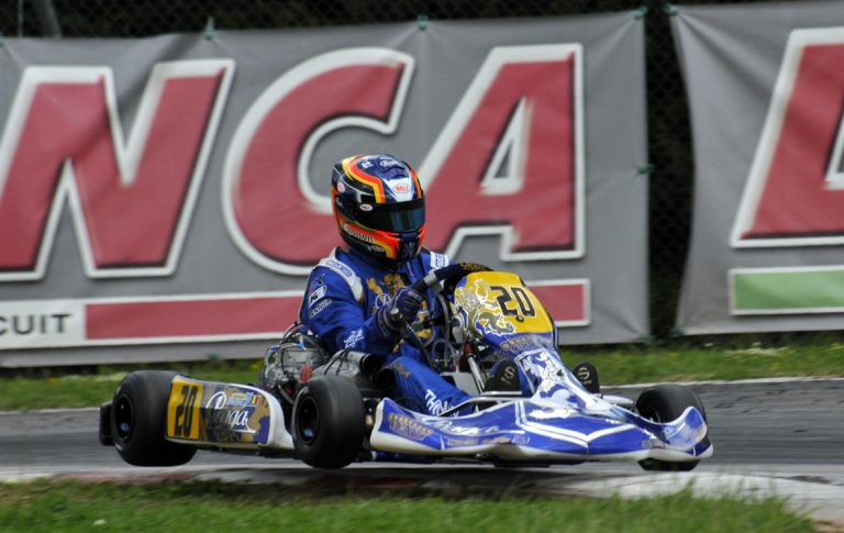3° Round WSK Super Master Series: KZ2, Jonathan Thonon pole position