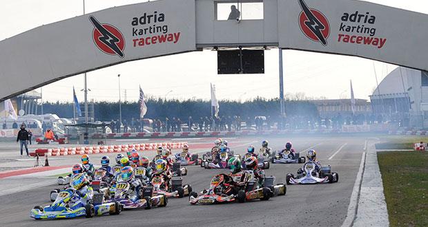 Con 250 iscritti alla WSK Champions Cup parte a Adria la stagione del karting 2017 di WSK Promotion