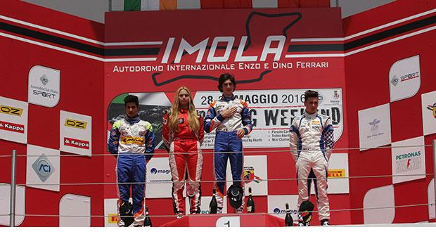 Italian F4 Championship: Siebert wins Race 1, Colombo 1st in the Rookie Trophy
