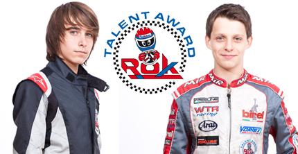 Michal Grzyb in KF2 e Federico Squaranti in KF3 sono i ROK Talent Award 2012