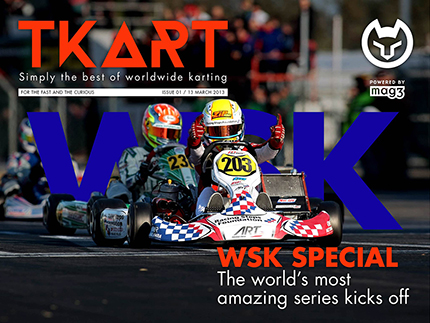 Il primo numero di TKART digitale è ora disponibile anche in inglese