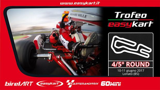 Il Trofeo Easykart torna a Lonato per il primo doppio round stagionale