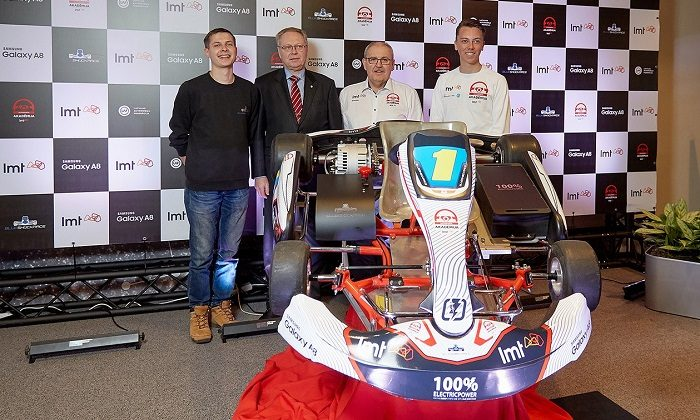 World's first electric Kart Championship launched in Latvia