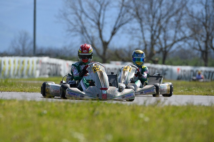 The Tony Kart Racing Team ready for the European Championship debut in OK and OKJ class
