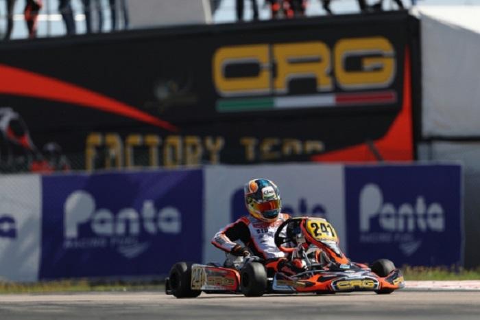 CRG per l'apertura del campionato europeo CIK-FIA a Sarno