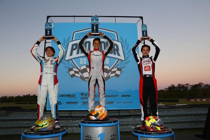 Superkarts! USA Springnationals è la prossima gara per il talento di Arias Deukmedjian