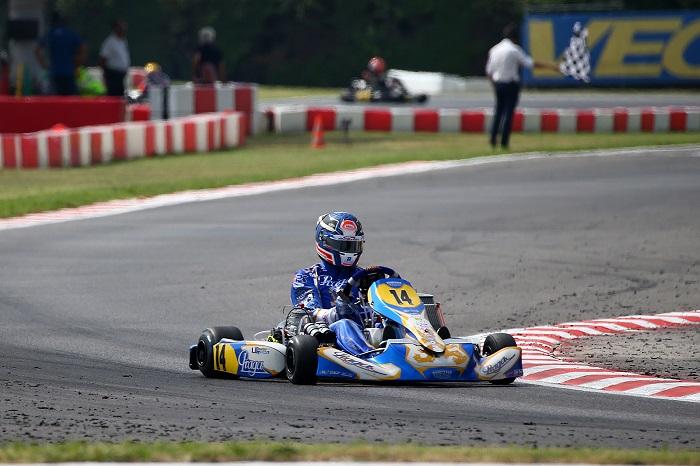 En Lonato en el Campeonato Europeo CIK-FIA las pole positions en Celenta en KZ y en Denner en KZ2