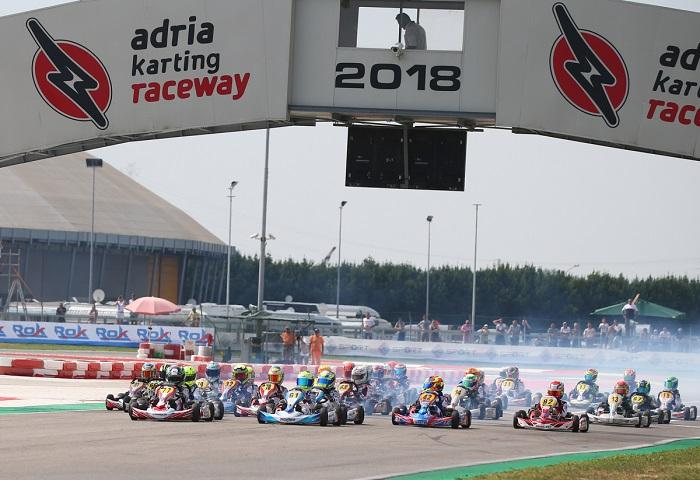 In bella evidenza i maggiori protagonisti del Campionato Italiano ACI Karting nella quinta prova ad Adria