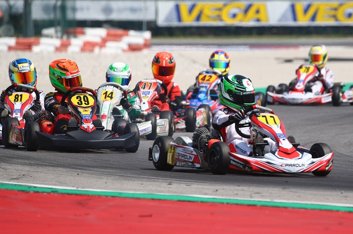 At Adria disputed the qualifying heats of the ACI Karting Italian Championship