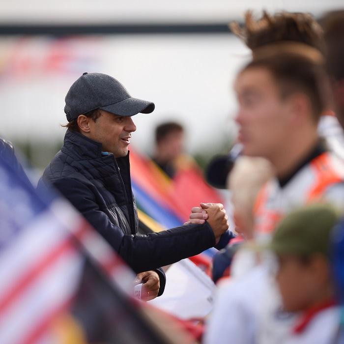 Intervista da Kristianstad con Felipe Massa, Presidente della CIK-FIA