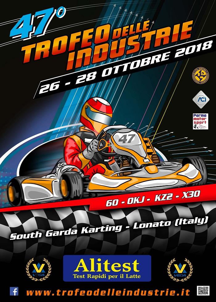 Il 47° Trofeo Delle Industrie in programma il 26-28 ottobre 2018 a Lonato. Iscrizioni dal 1° ottobre