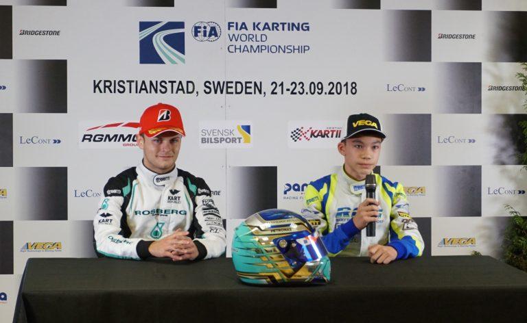 FIA Karting World Championship, Kristianstad: Travisanutto (OK) e Askey (OKJ) comandano la classifica provvisoria