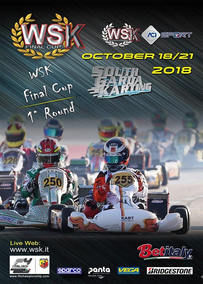WSK Final Cup, prima tappa il prossimo weekend a Lonato
