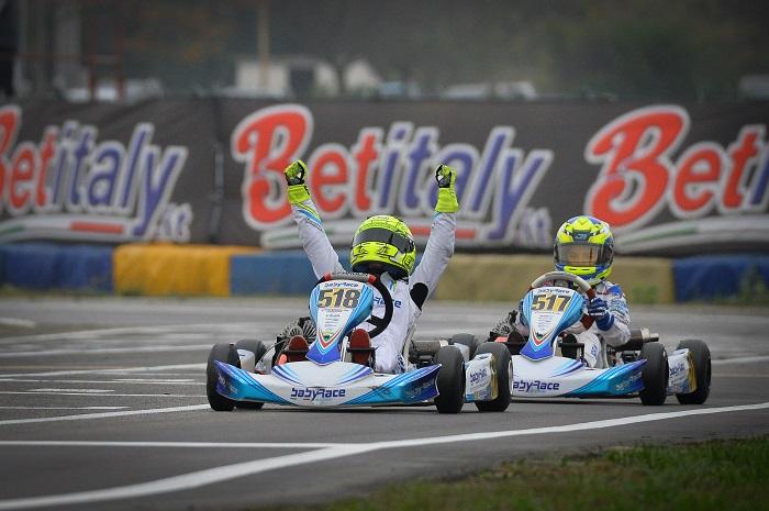 Magica doppietta Baby Race con Eychmans e Irfan nella WSK Final Cup
