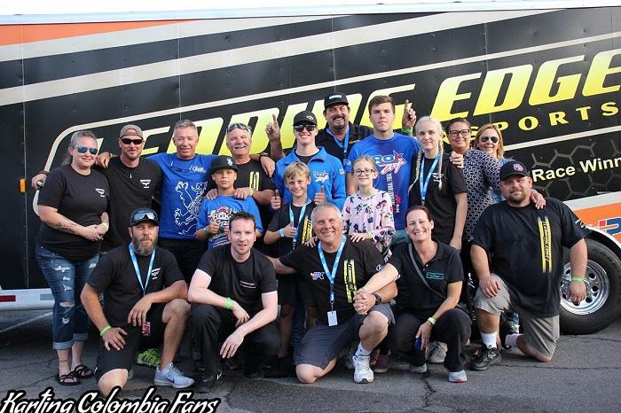 IPK North America and Leading Edge Motorsports podium at Rok The Rio