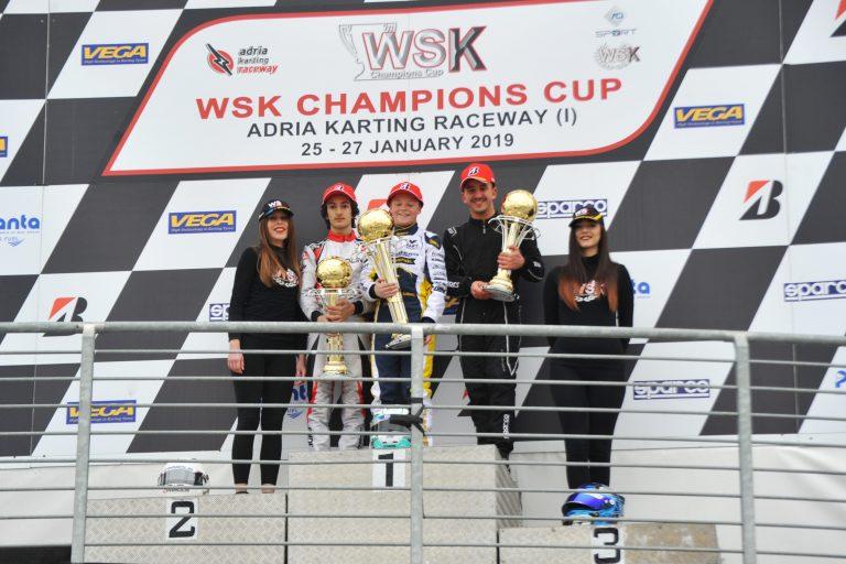 Las carreras finales en la WSK Champions Cup en Adria (RO)