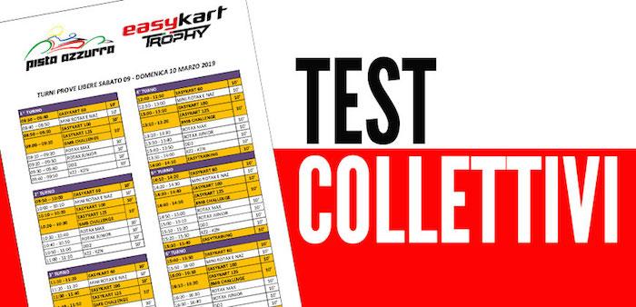 Al via la stagione Easykart 2019 con i test collettivi del 9-10 marzo a Jesolo.
