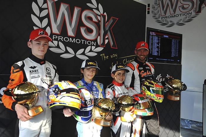 WSK Super Master Series – le classifiche finali alla 4. tappa di Sarno (SA)
