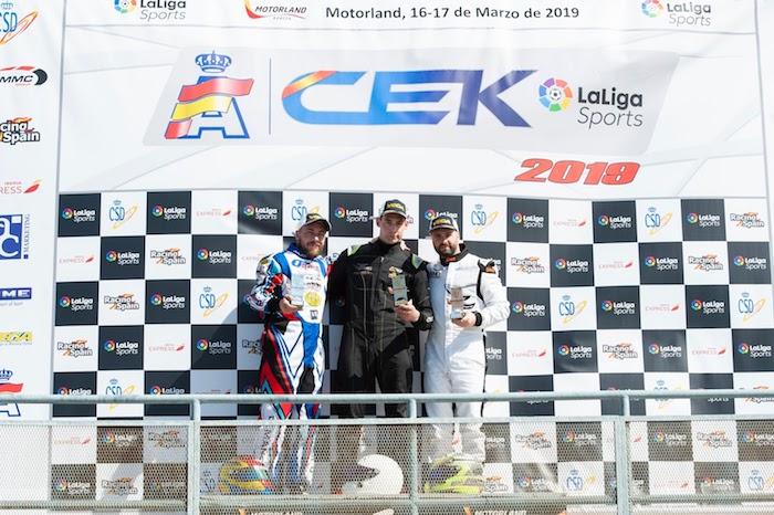 Al via il Campionato Spagnolo di Karting 2019: esordio promettente per il Solokarting Racing Team