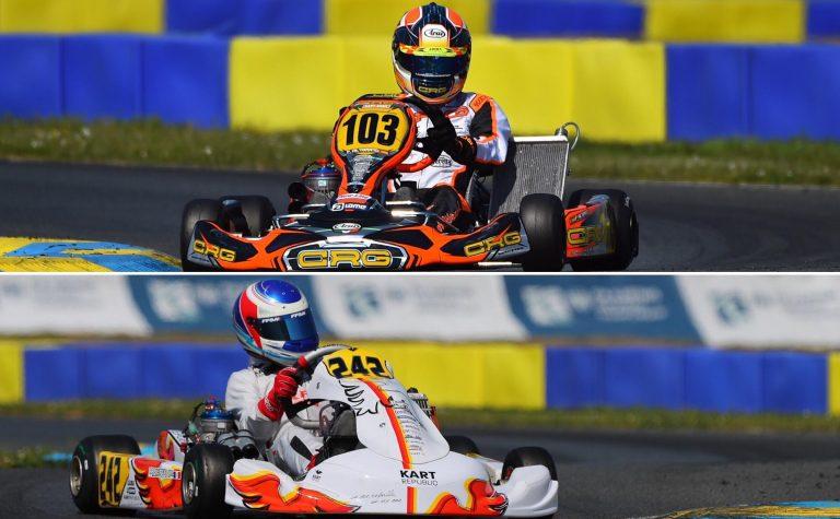 Angerville: Hiltbrand e Capietto in pole position nel round di apertura del campionato europeo
