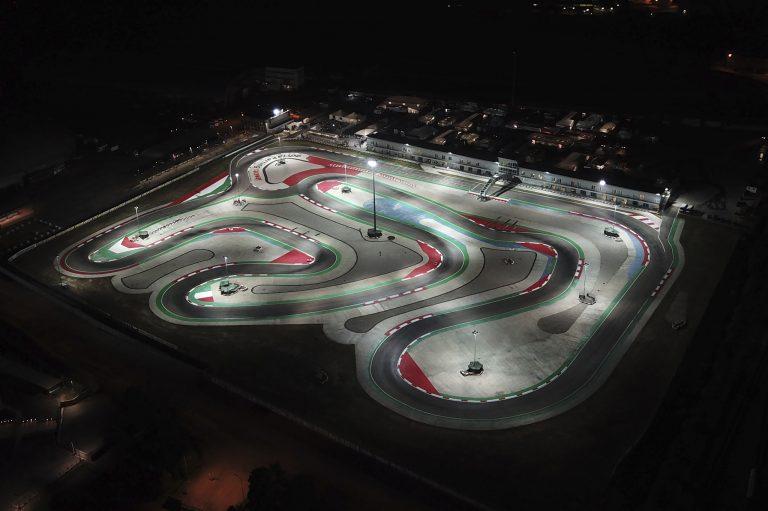 Prove ufficiali alla 4. tappa in notturna della WSK Euro Series a Adria (RO)