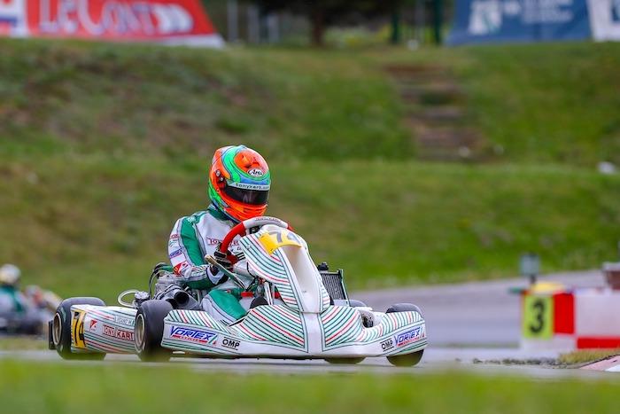 Tony kart – A Sarno por el título europeo KZ