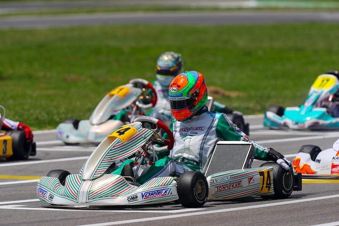 Tony Kart – La lucha por los títulos de WSK Euro Series continúa.