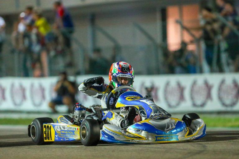 Antonelli domina ad Adria e diventa Campione WSK Euro Series e Campione Italiano